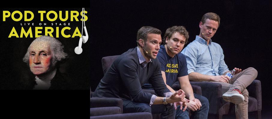 Pod Save America at Kings Theatre
