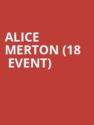 Alice Merton (18+ Event) at Music Hall Of Williamsburg