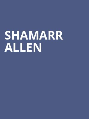 Shamarr Allen at Knitting Factory Concert House Brooklyn