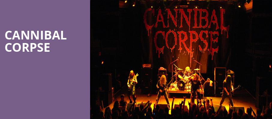 Cannibal Corpse, Warsaw, Brooklyn
