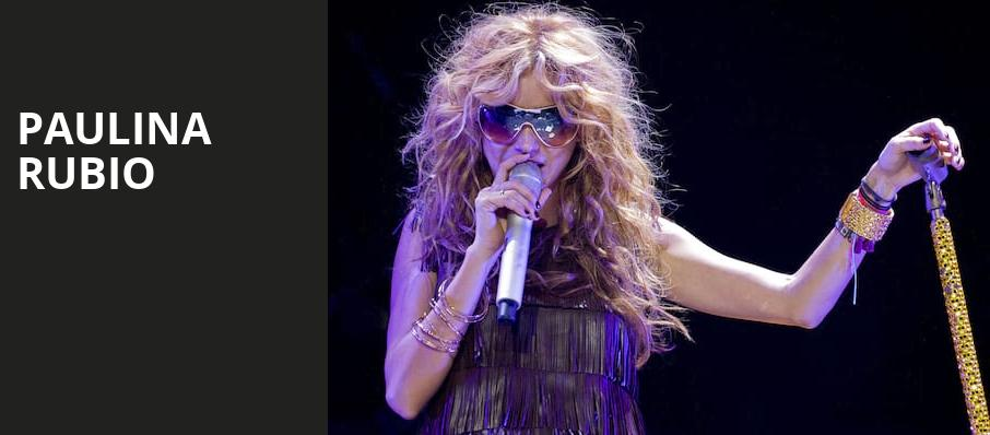 Paulina Rubio, Kings Theatre, Brooklyn
